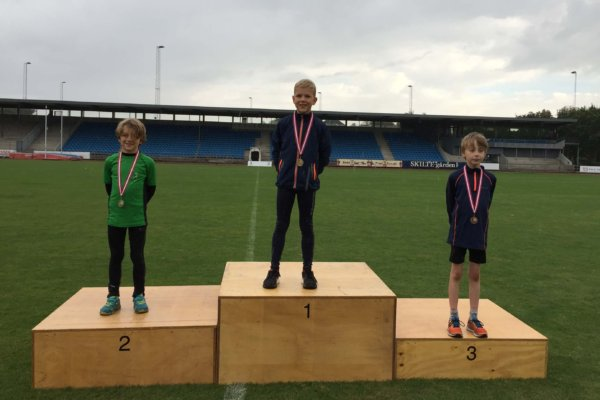 I 2016 vandt Sverre guld og Nicolaj sølv i 4-kampen for 7-9 årige.